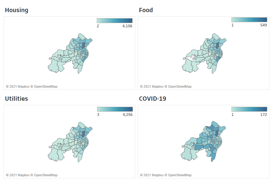 One of these things is not like the others: COVID needs in St. Louis