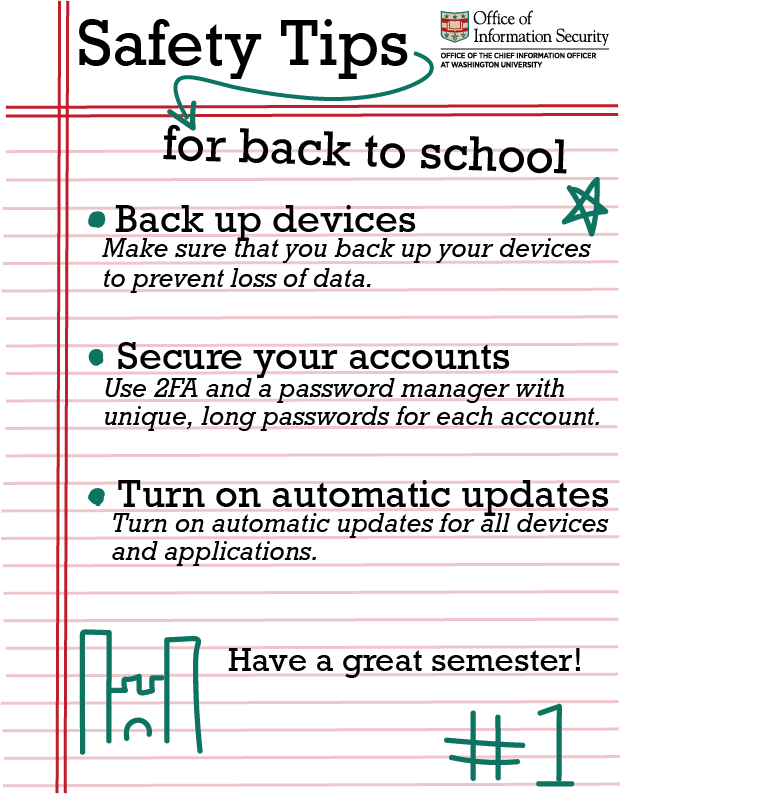 Safety Tips for Back to School