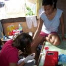 Lower hemoglobin levels in first time mothers from Cebu, Philippines.
