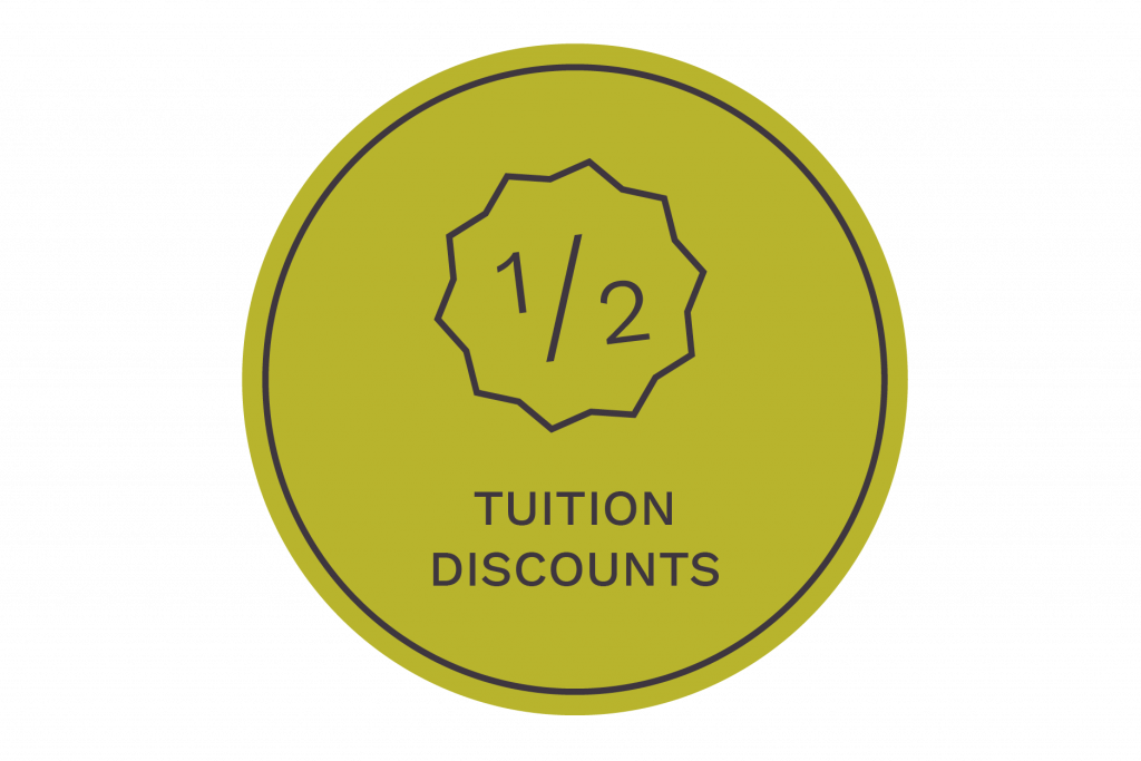 tuition discounts