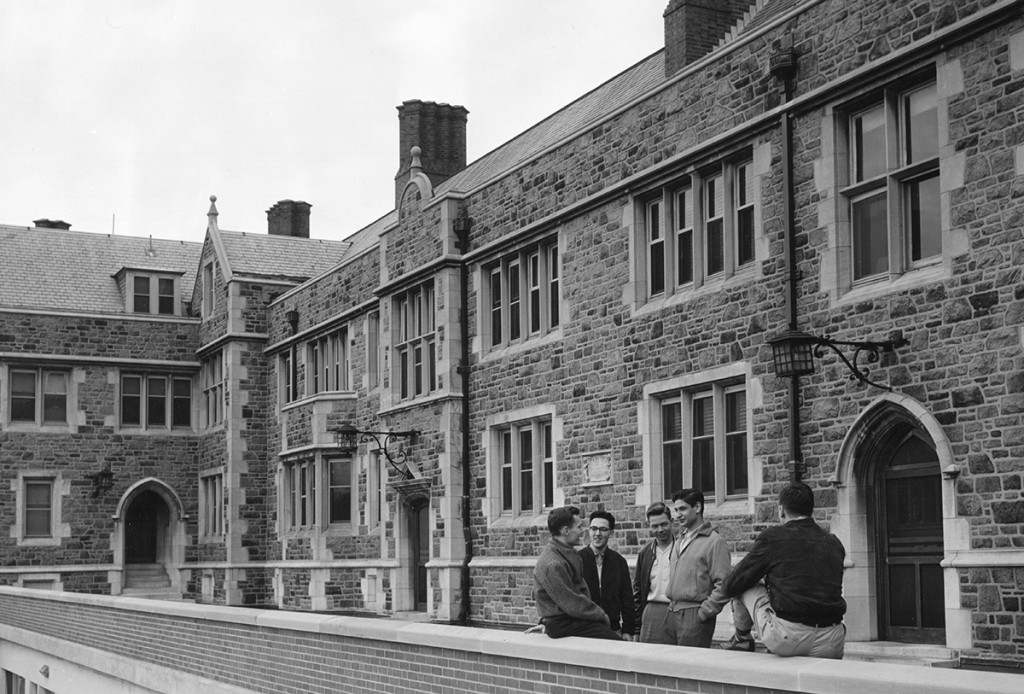 1961: Business school moves to Prince Hall