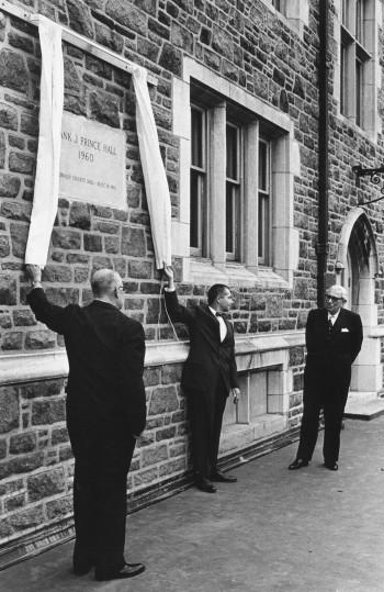 Prince Hall unveiling