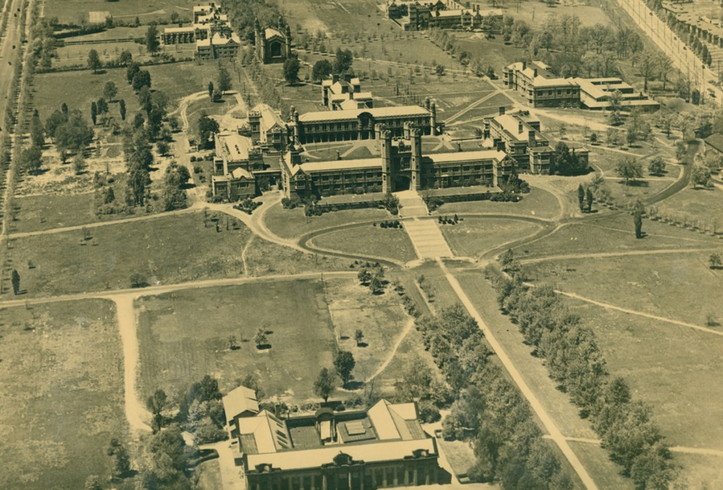 The Washington University campus in 1922.