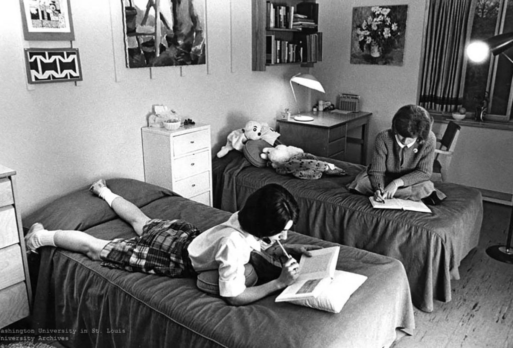 A Look Back: Dorm rooms over the years