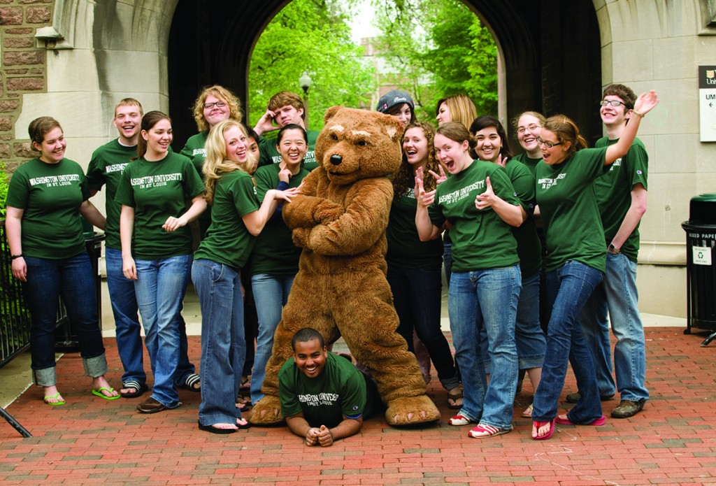 A brief history of Washington University's Bear