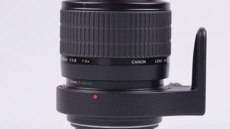 2x Canon DSLR w/ 1-5x macro lens