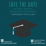 Save the Date for WashU's Cultural Affinity Graduation Ceremonies