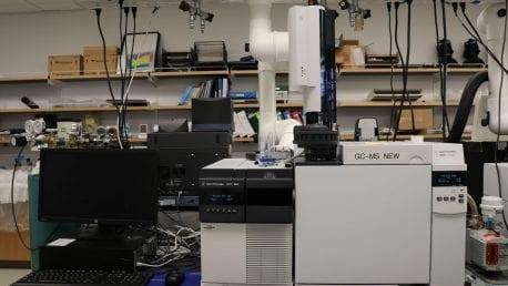 GCMS Spectrometry:(Agilent 78(20:90)A )