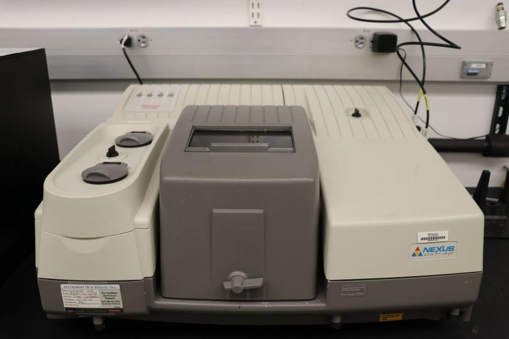 FTIR Spectroscopy: Thermo Scientific Nicolet 470
