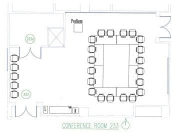 DUC 233 Floorplan