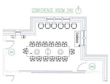 DUC 240 Floorplan