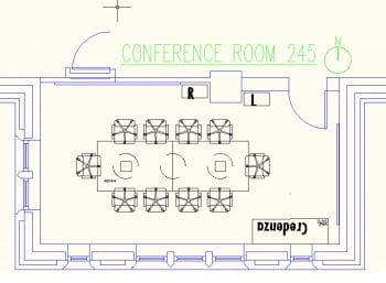 DUC 245 Floorplan