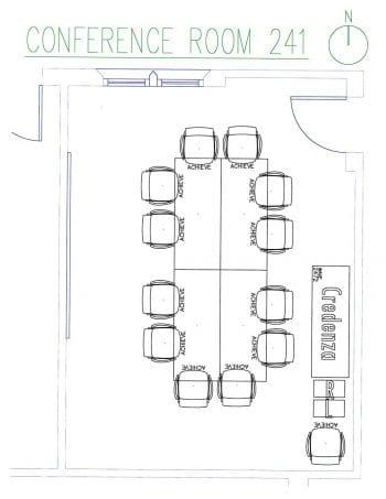 DUC 241 Floorplan