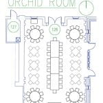 Orchid Room Floor Plan