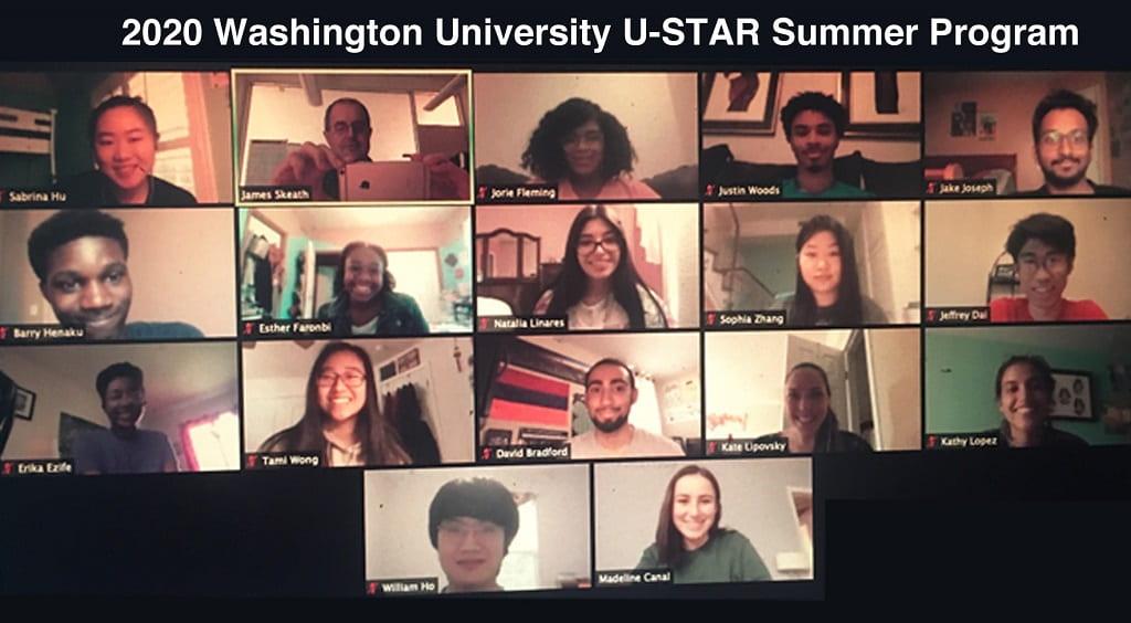 uSTAR 2020 Summer Scholars