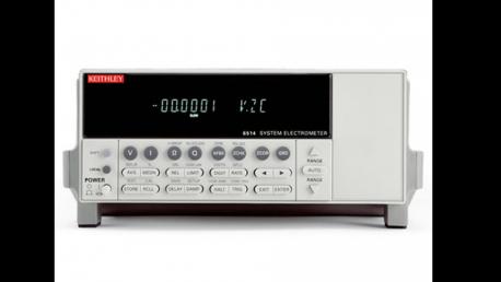 6517B Electrometer/High Resistance Meter