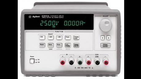 Keysight E3631A DC Power Supply, Programmable