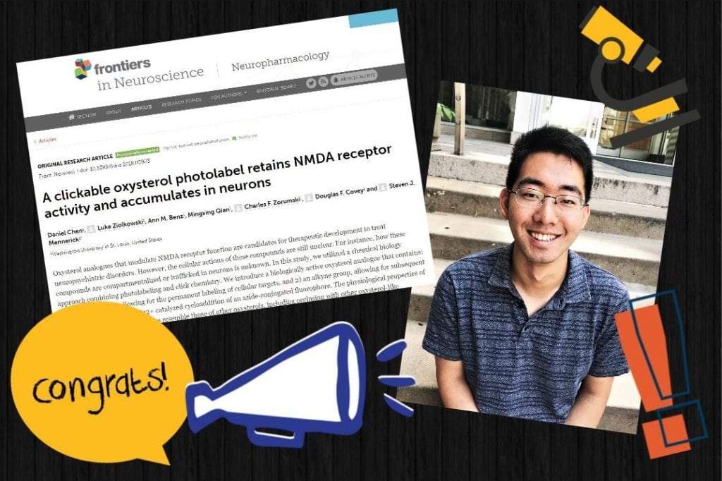 Congratulations to Daniel Chen on his paper acceptance to Frontiers in Neuroscience!