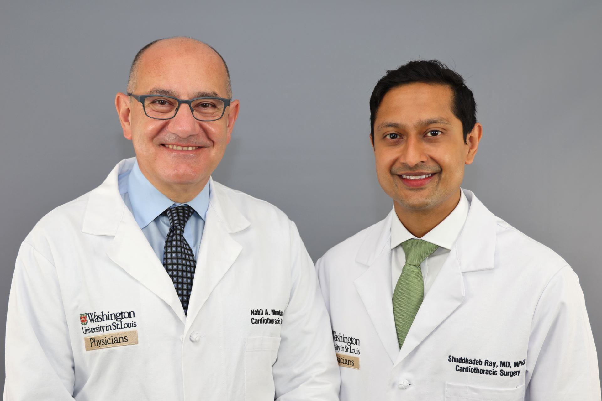 Drs. Munfakh and Ray treat a variety of CT conditions at Christian Northeast Hospital.