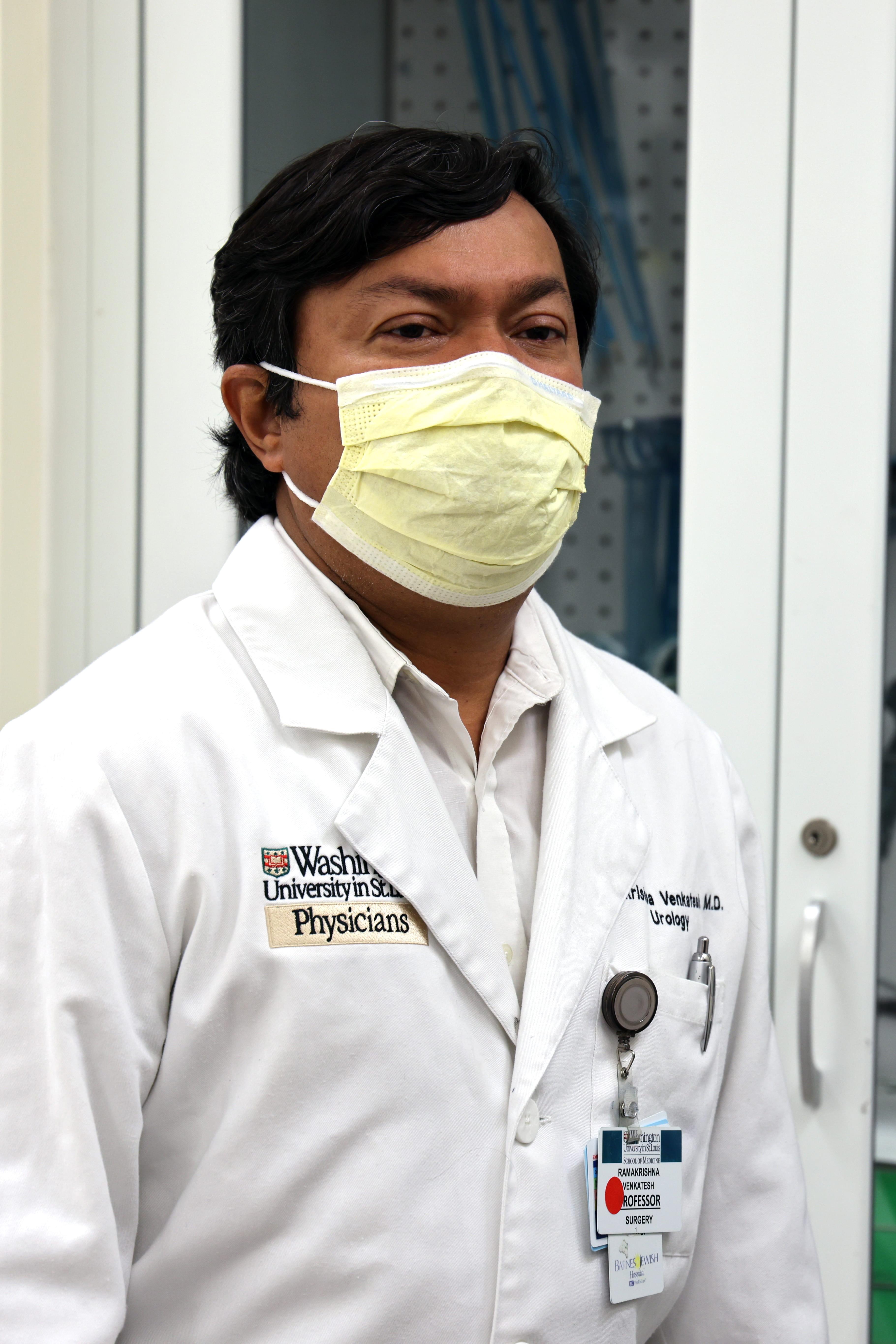 Ramakrishna Venkatesh, MD, Professor of Urologic Surgery