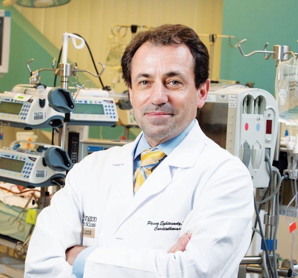 Pediatric cardiothoracic surgeon Pirooz Eghtesady