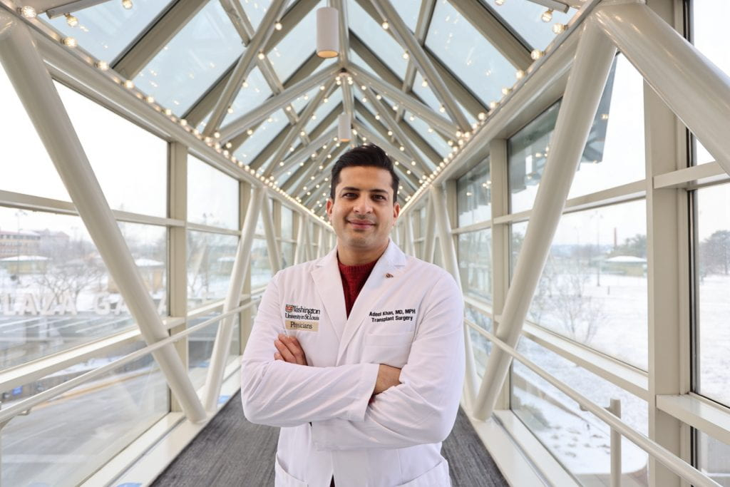Doctor Khan in the link at the medical campus