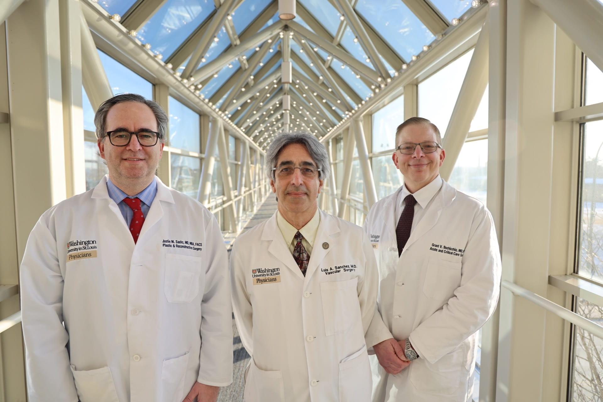 Limb Preservation Doctors Sacks, Sanchez and Bochicchio