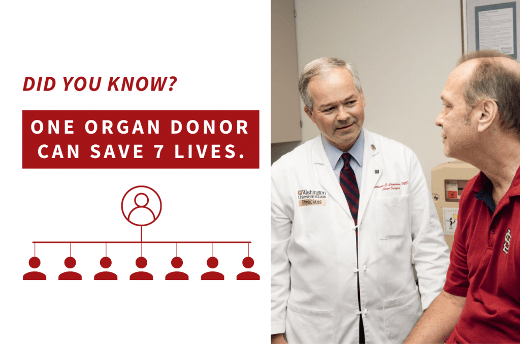 Chief of Transplant Surgery, Dr. Will Chapman