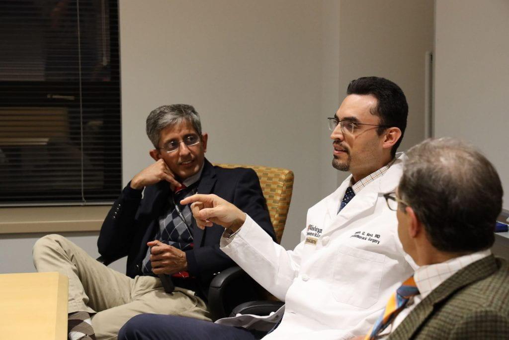 Varun Puri, MD, MSCI, Ruben Nava, MD, and Daniel Kreisel, MD, PhD