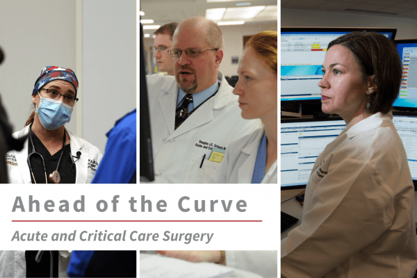 Acute and Critical Care Surgery | 2020 Annual Report