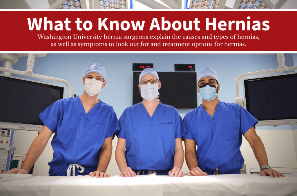 What to Know about Hernias