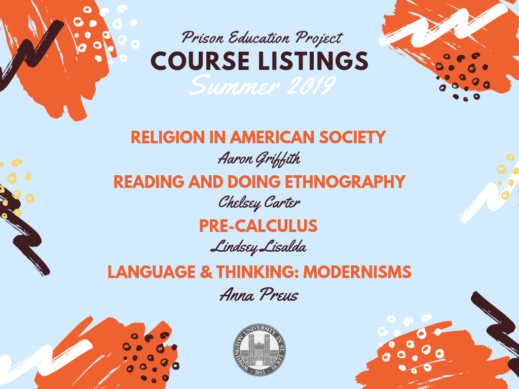Upcoming Summer 2019 Courses!