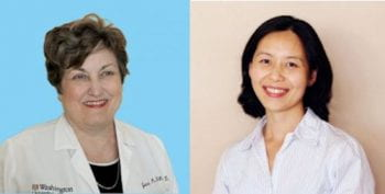 Janet B. McGill, MD and Jing Hughes, MD, PhD