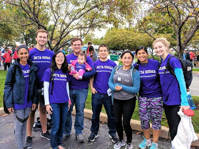 The Millman Lab at the JDRF One Walk, 2017
