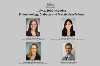 2020 Matched Endocrine Fellows