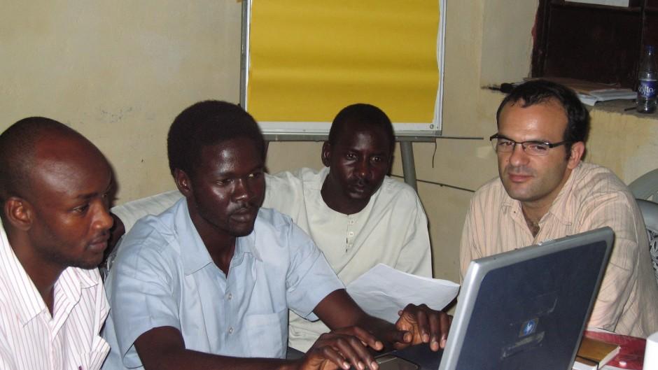 Research team, Darfur, 2008