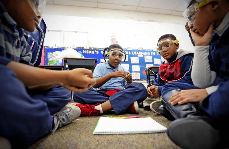 MySci: Transforming K-12 science education
