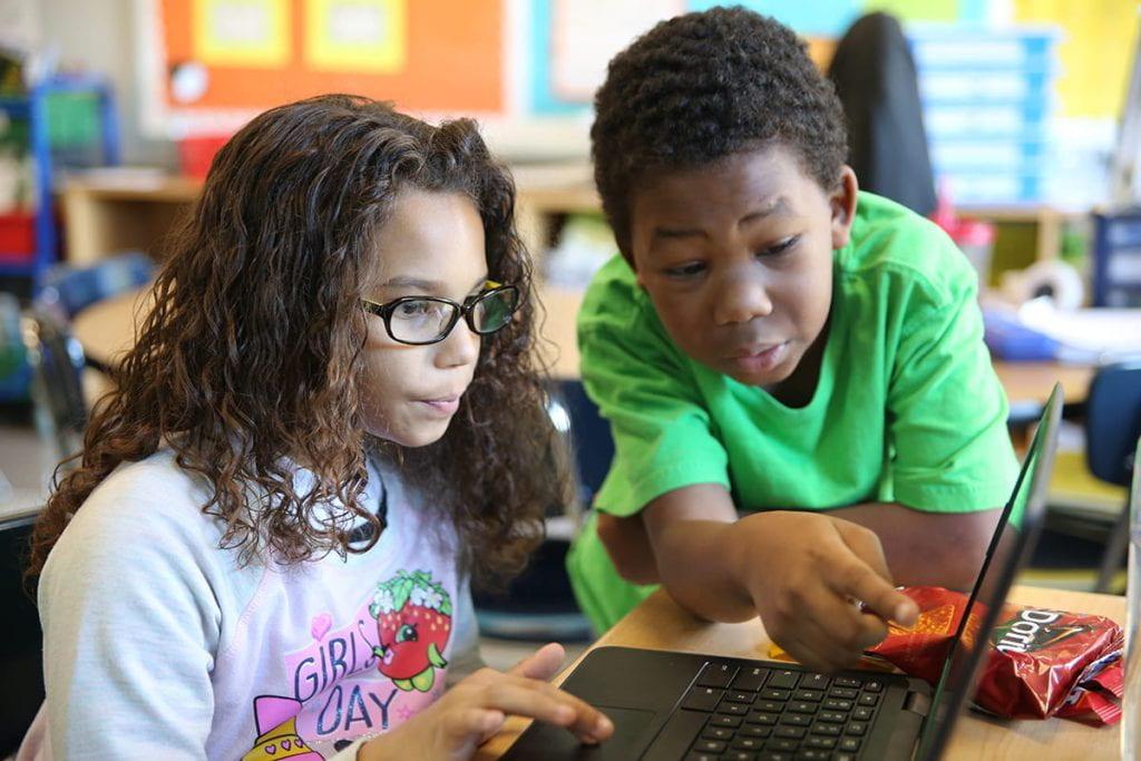 ISP leads Hour of Code challenge in University City school