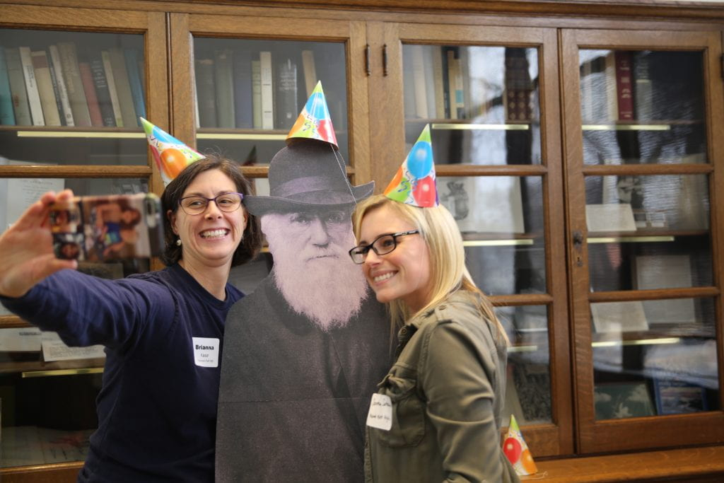 Celebrating science at the ISP's annual Darwin Day
