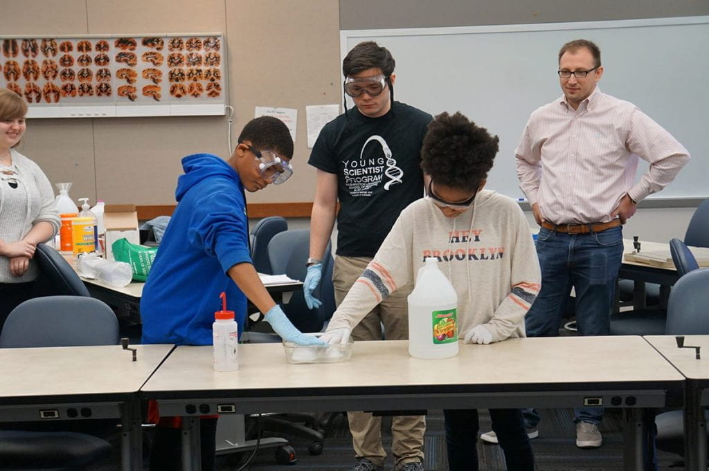 YSP promotes science literacy for high school students