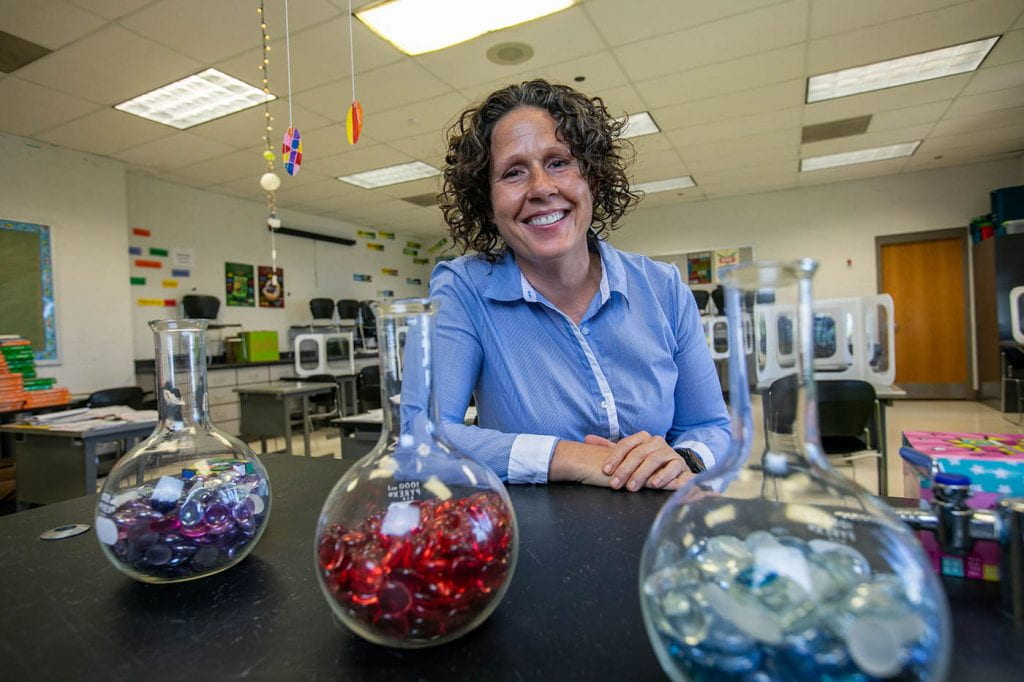 Class Acts: Theresa Matheus, Gateway Middle Science Teacher