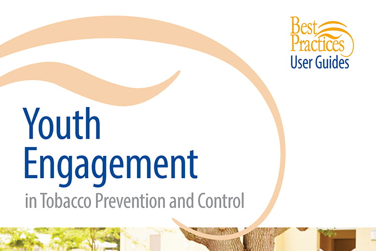 CDC publishes updated Youth Engagement in Tobacco Prevention and Control User Guide