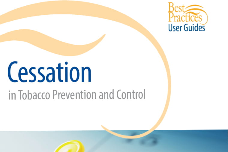 CDC publishes Cessation in Tobacco Prevention and Control User Guide