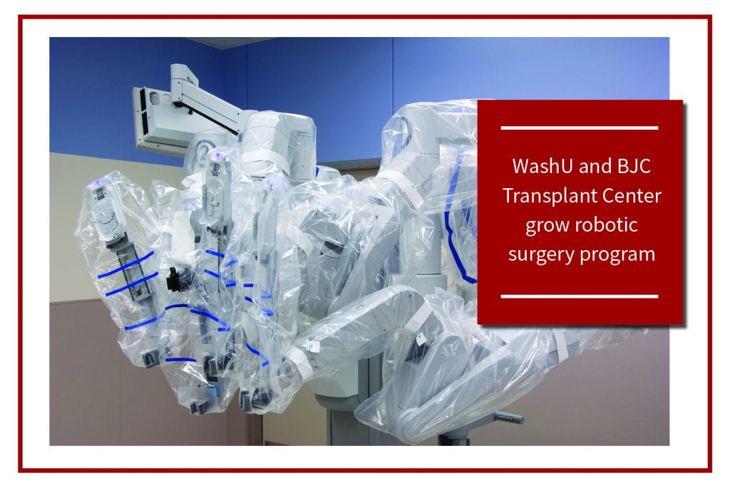 Changing the Playing Field: Robotic Surgery in Transplantation
