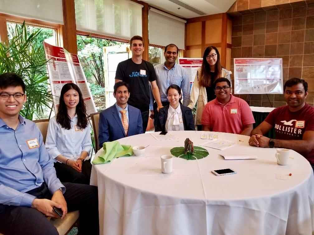 Chaudhuri Lab at 2018 Cancer Biology Retreat