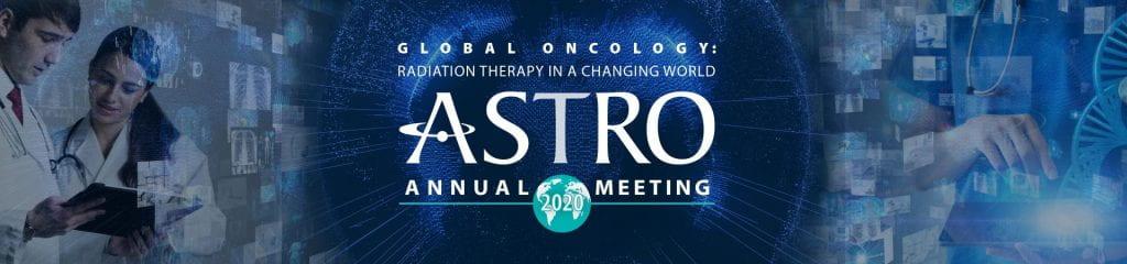 Congrats on ASTRO