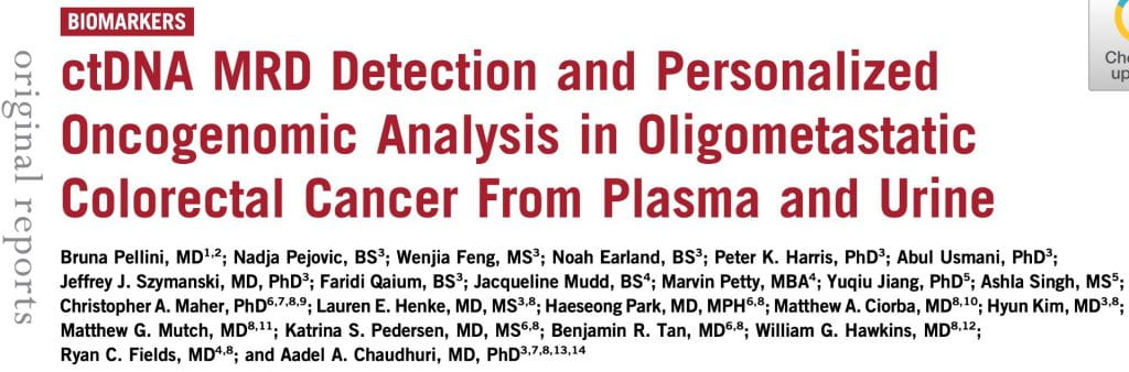 Bruna, Nadja & Wenjia publish their paper in JCO Precision Oncology!