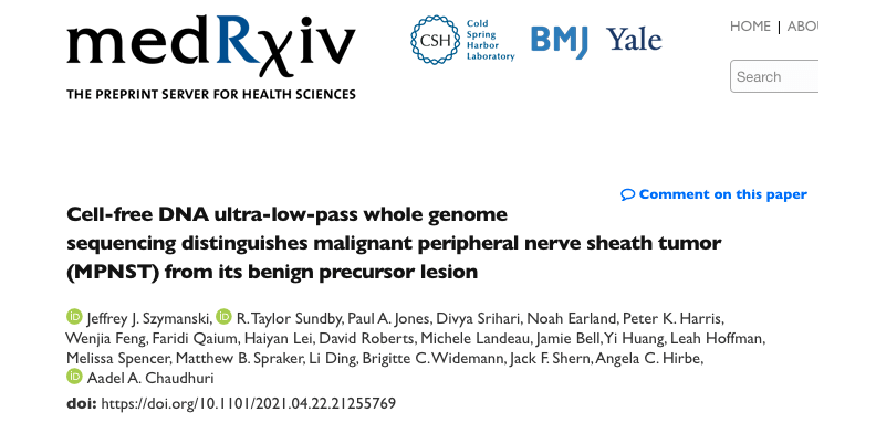 Congrats on our medRxiv publication!
