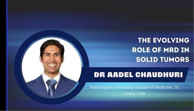 Dr. Chaudhuri speaks at the International Society of Liquid Biopsy