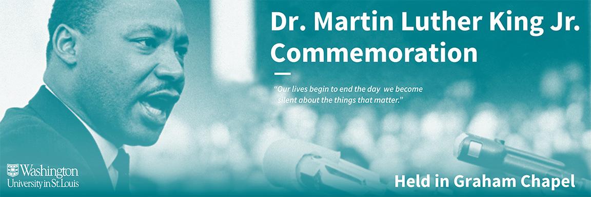 2019 Commemoration Dr Martin Luther King Jr Commemoration The